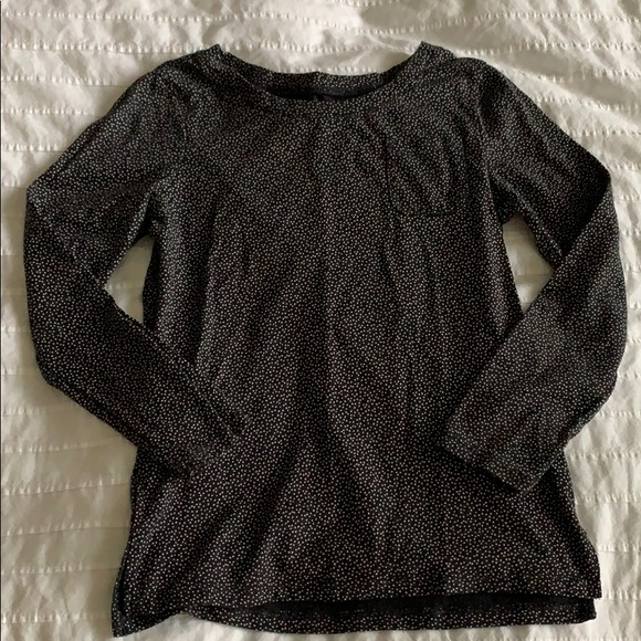 Old Navy Other - Dark Grey Top with White Dots **3 for $10**